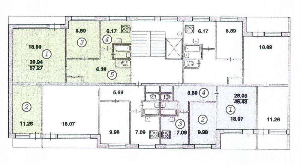 Крупнопанельный дом серии 1 лг 504д winart, спб.