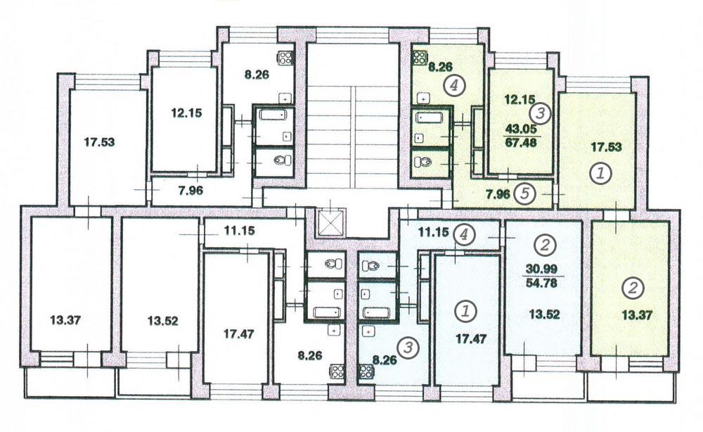 План Квартир 600.11